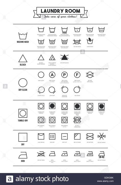 International Garment Cleaning Symbols