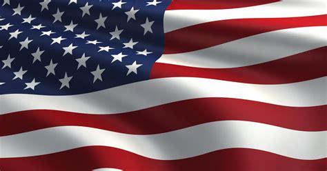 americas flag long   wave  honor  glory