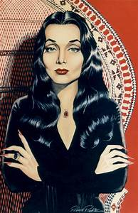 This Is Lush Budget: MY ORIGINAL ART:Baby Jane, Morticia ...