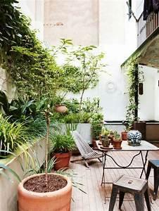 schone terrasse einrichten 100 tolle ideen archzinenet With französischer balkon mit 3d garten 11