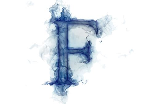 Letter Lit. Smoke Gas F Hd Wallpaper