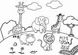 Scenery Coloring Pages Scene Playground Drawing Mountain Colouring Pencil Panda Boyama Printable Farm Village Fall Country Paradise Animals Sheets Animal sketch template