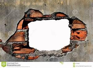 Loch In Der Wand : loch in der wand stockbild bild von hintergrund ~ Lizthompson.info Haus und Dekorationen