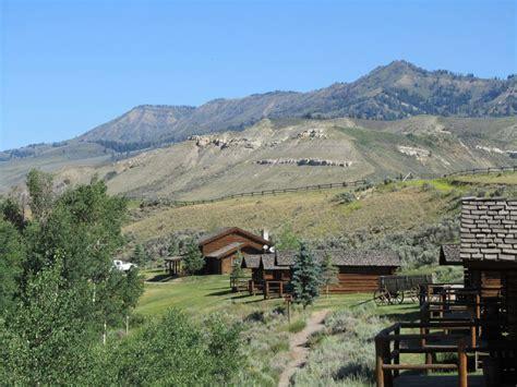 Jackson Hole Log Cabins: Goosewing Ranch   Cowboy Cabins