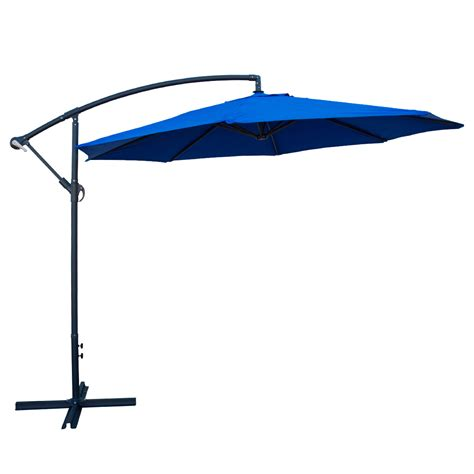 deluxe 10 offset umbrella patio set tilt side