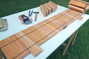 Palette De Bois : emejing bordure de jardin en bois de palette ideas ~ Premium-room.com Idées de Décoration