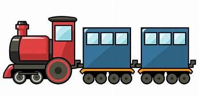 Train Clipart Caboose Engine Trains