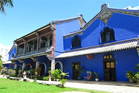 Cheong Fatt Tze Mansion In Penang  Georgetown Attractions