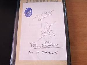 Neil Armstrong Autograph JSA Certified - Pics about space
