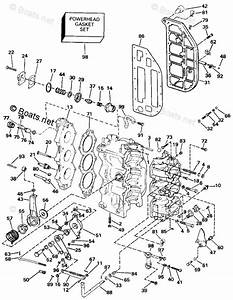 Evinrude Outboard Parts By Year 1993 Oem Parts Diagram For
