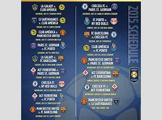 International Champions Cup Announces 2015 Schedule feat
