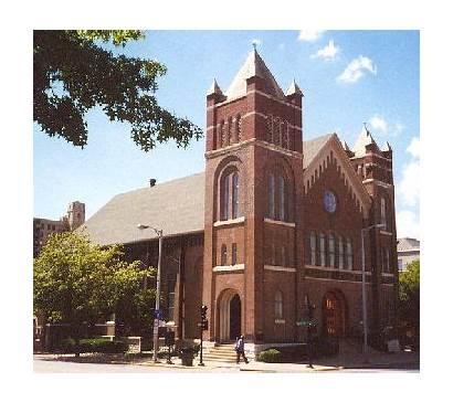 Lincoln Church Presbyterian Springfield Churches St Catholic