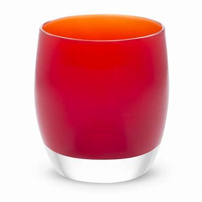 Glass Votive Poppy Candle Glassybaby Holders Candles