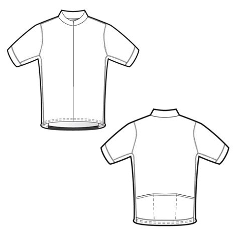Custom Cycling Jersey Template by The Gold Collection For Cycling Podiumwear