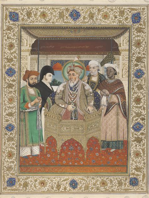 The Last Stand Summary by File Portrait Of Akbar Ii With Sir Charles Theophilus