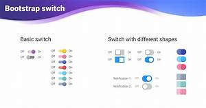 Vue Switch Bootstrap 4 Material Design Examples
