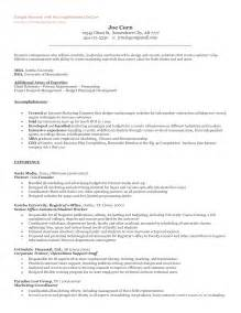 resume startup company experience the entrepreneur resume and cover letter what to include