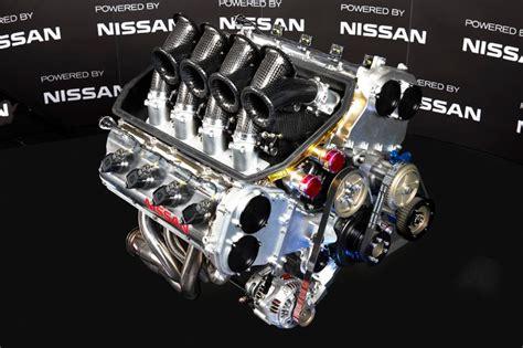 nissan v8 supercar engine fires into speedcafe