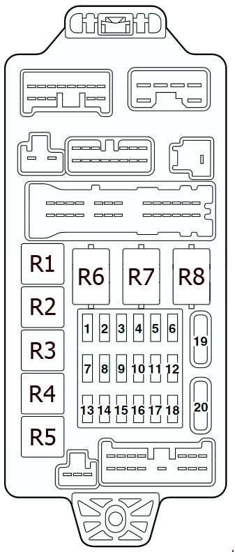 Mitsubishi Lancer Fuse Box Diagram Auto