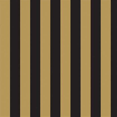 the dolls house emporium gold black stripe wallpaper