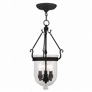 Livex lighting jefferson in black vintage single