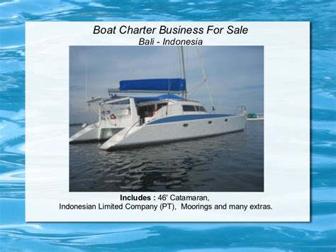 Charter Boat Business by Boat Charter Business For Sale