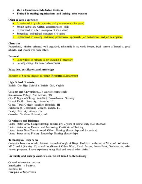 my resume best server resume exle livecareer