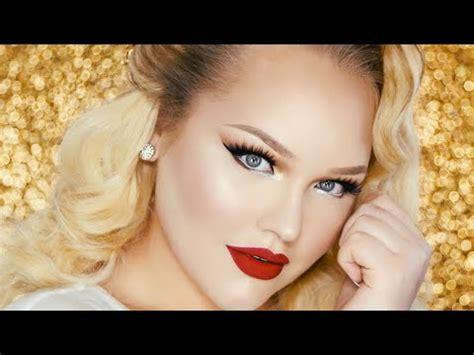 vintage glam prom makeup tutorial rupaul inspired youtube