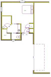 floor plans with in suite in cottage plans house design