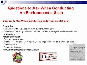 entrepreneurial discovery and environmental scanning With environmental scan template