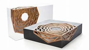 Table Basse Design Bois : table basse design makoa mobilier en bois naturel ~ Teatrodelosmanantiales.com Idées de Décoration
