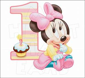 Baby Minnie Mouse 1st Birthday INSTANT DOWNLOAD digital ...
