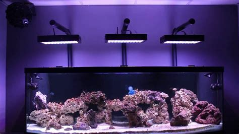 MAN CAVE REEF LED EVERGROW aquarium light DIY mounting kit