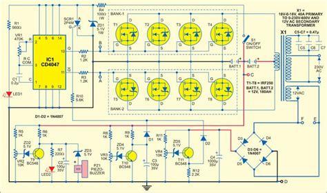 Inverter Provides Power Backup For Mains Based