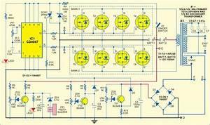 An Inverter Provides Power Backup For Mains