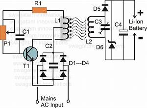 wireless li ion battery charger circuit tech electronic With solar charger circuit with diagram latest projects electronics