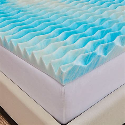 king memory foam mattress topper buy authentic comfort 174 bluewave 2 inch california king