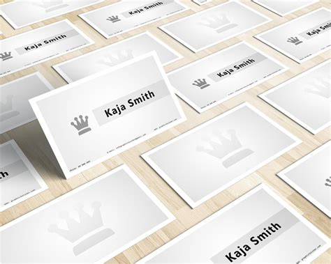 crown business card