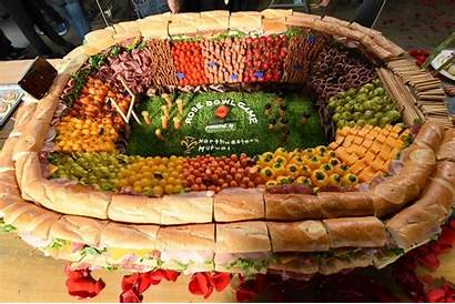 Party Spread Catering Espn Stylist Bowl Display