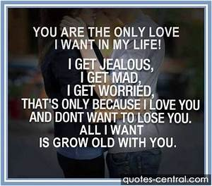 I Want You In My Life Quotes. QuotesGram