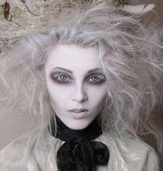 ghostly white halloween party pinterest costume ideas snow  halloween makeup