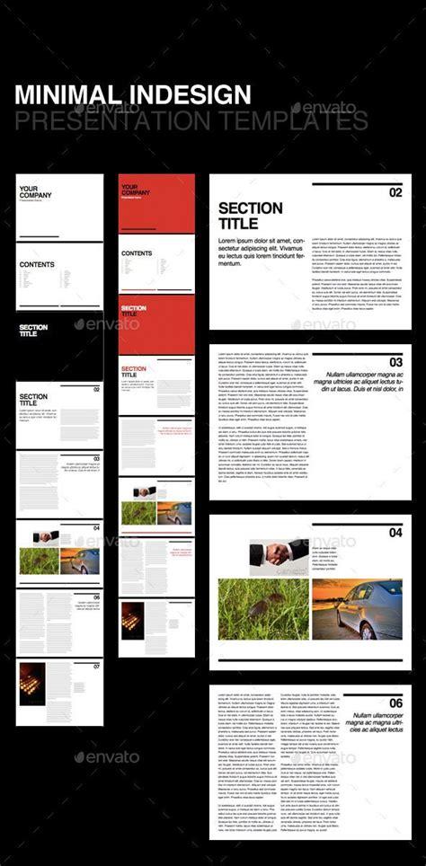 swiss minimal  template corporate brochures