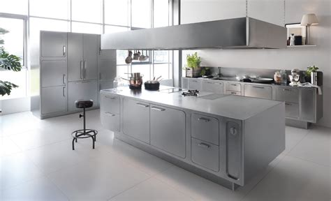 cuisine island a stainless steel kitchen designed for at home chefs