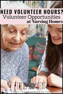 Volunteer Opportunities For Teens Nursing Homes
