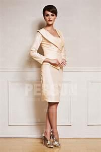 Pantalon De Soiree Chic : tailleur chic en taffetas ~ Melissatoandfro.com Idées de Décoration