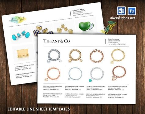 product  sheet wholesale catalog template mini product
