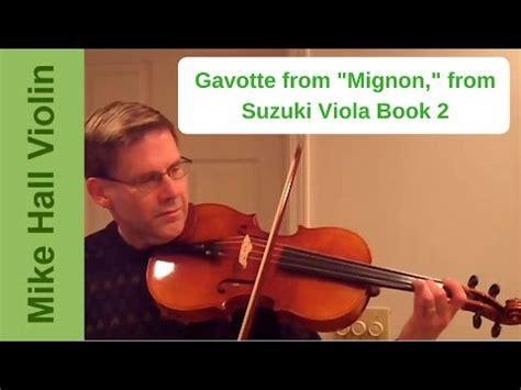 Gavotte Suzuki Book 2 by Gavotte From Mignon By Suzuki Violin Book 2