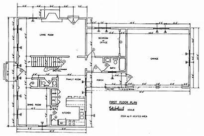 Floor Plan Plans Blueprints Colonial Building Printable