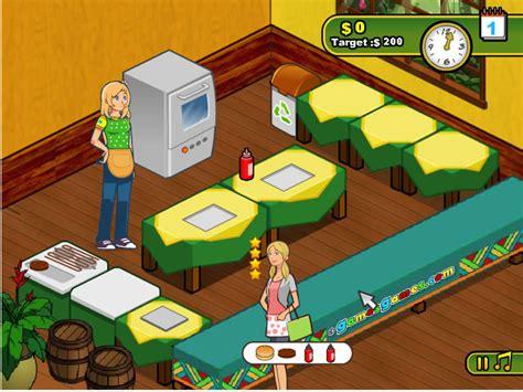 jeux de cuisine burger restaurant jouer à burger restaurant 2 jeux gratuits en ligne avec