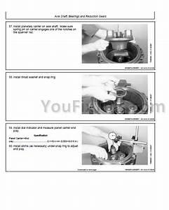 John Deere 425 445 455 Repair Manual  Lawn  U0026 Garden